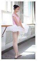 Tutu professionnel sur mesure filles jupe adulte justaucorps de gymnastique 6 couches dur organdi plateau Ballet Costume femmes