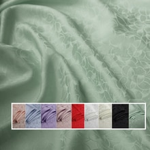 Schwere seide material lotus jacquard seide stoff für kleider shirts Seide Viskose