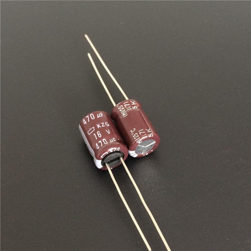 10 шт. 470 мкФ 16V Nippon Chemi-Con NCC KZG Series 8x12 мм Ультра низкий ESR 16V470uF материнская плата конденсатор