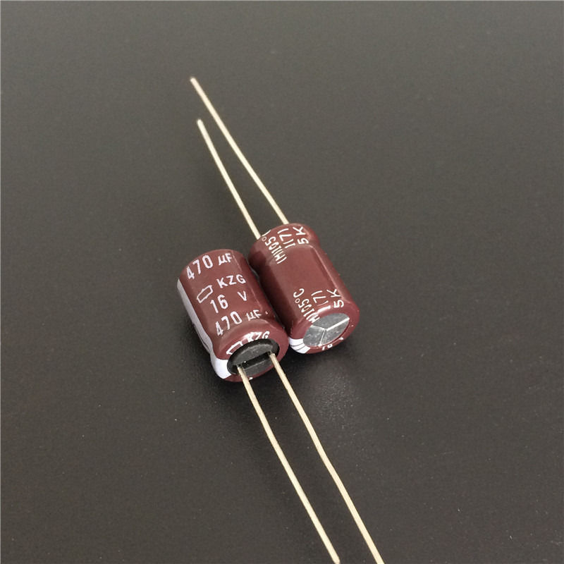 10 Uds 470uF 16V Nippon Chemi-Con NCC KZG serie 8x12mm Ultra baja ESR 16V470uF placa base condensador