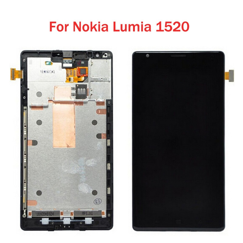 Original para Nokia Lumia 1520 pantalla LCD con montaje de digitalizador con...