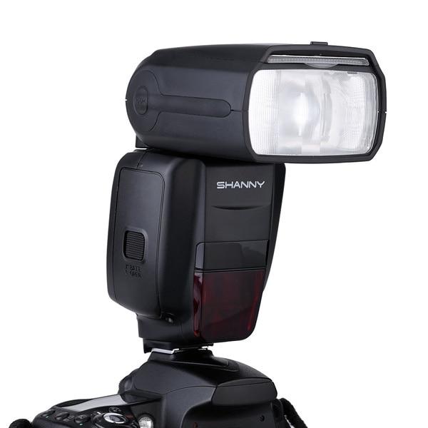 Luz Flash speedlite de transmisión de Radio inalámbrica i-ttl SHANNY SN910EX-RF D7100 para Nikon D7000 D5200 D5100 D5000 D3000 D3100