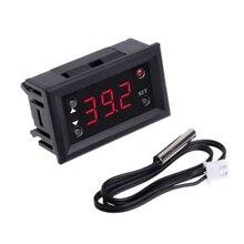 Thermostat numérique à affichage LED DC 12V -20 ~ 100 Celsius régulateur de température pour incubateur Termostat