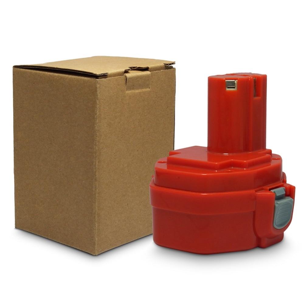Para Makita 14,4 V 3000mAh batería recargable para Makita PA14 1420, 1422, 1433, 1434 1435F JR140D 192699-A Ni-MH MTX batería 1420G