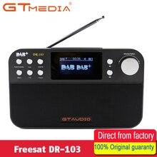 GTMEDIA DR-103 DAB+ Satellite receiver Portable Digital DAB FM Stereo Radio Receptor With 2.4 Inch TFT Bluetooth 4.0