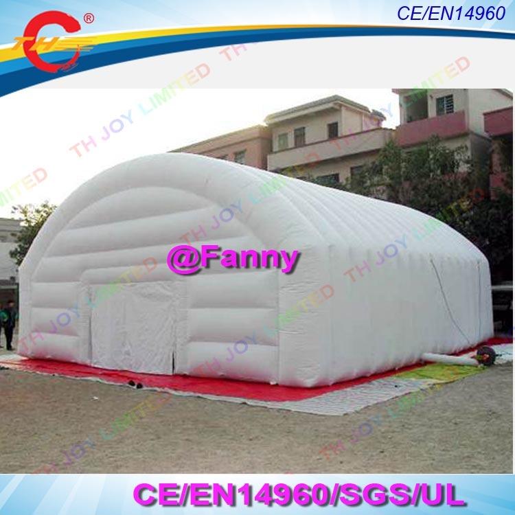 Двухслойная белая гигантская надувная палатка для мероприятий/вечерние шатер