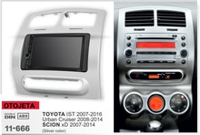 Navirider GPS Bluetooth stereo android 9.1 auto multimedia für Toyota ist Urban Cruiser Scion XD navigation radio + rahmen + kamera