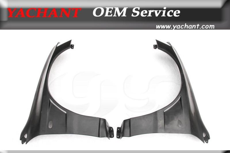 Guardabarros delantero de fibra de vidrio FRP para 1-07 Lancer Evolution 7-9 EVO 7 8 9 VTX Cyber versión estilo guardabarros frontal