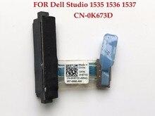 Conector HDD para ordenador portátil de alta calidad para Dell Studio 1535 1536 1537 adaptador de Controlador de disco duro para ordenador portátil 100% totalmente probado