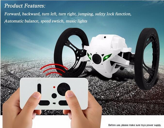 Carro do salto sj80 rc carros 4ch 2.4 ghz jumping sumo rc carro com rodas flexíveis robô de controle remoto carro