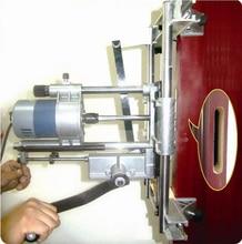 Mortaise portative de serrure de porte en bois