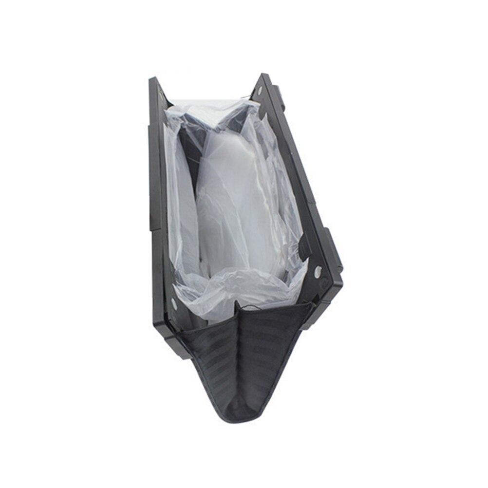 Papelera plegable duradera para coche, impermeable, bolsa de basura plegable, cubo de basura de coche colgante