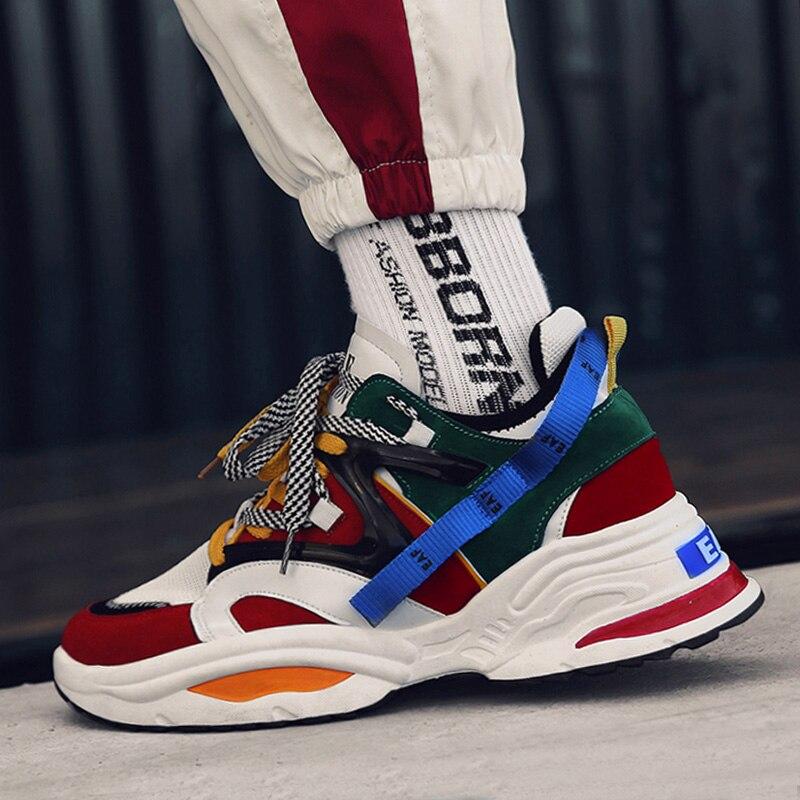 Zapatillas hombre casual tenis masculino INS vintage Zapatillas masculinas 2019 kanye west 700 luz transpirable zapatos casuales de los hombres