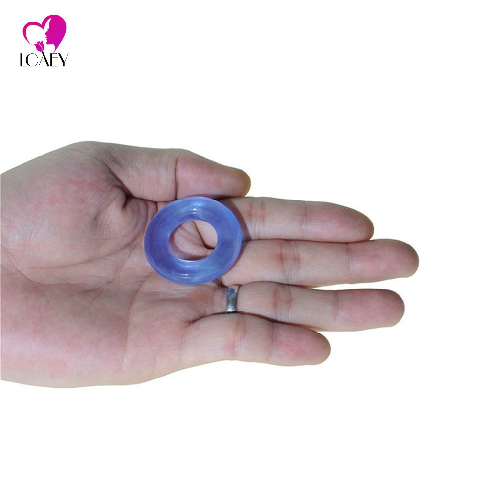 Lote de 3 unidades de anillos elásticos de masaje Granul para alargar el pene, mangas para pene, anillo de retraso, anillo de pene de juguete sexual ideal para hombres, producto sexual para adultos