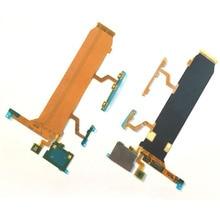 جديد لوحة رئيسية توصيل LCD فليكس حجم زر الطاقة زر الجانب Mic فليكس كابل ل HTC واحد Mini M4 601e ل HTC One Mini M4 601