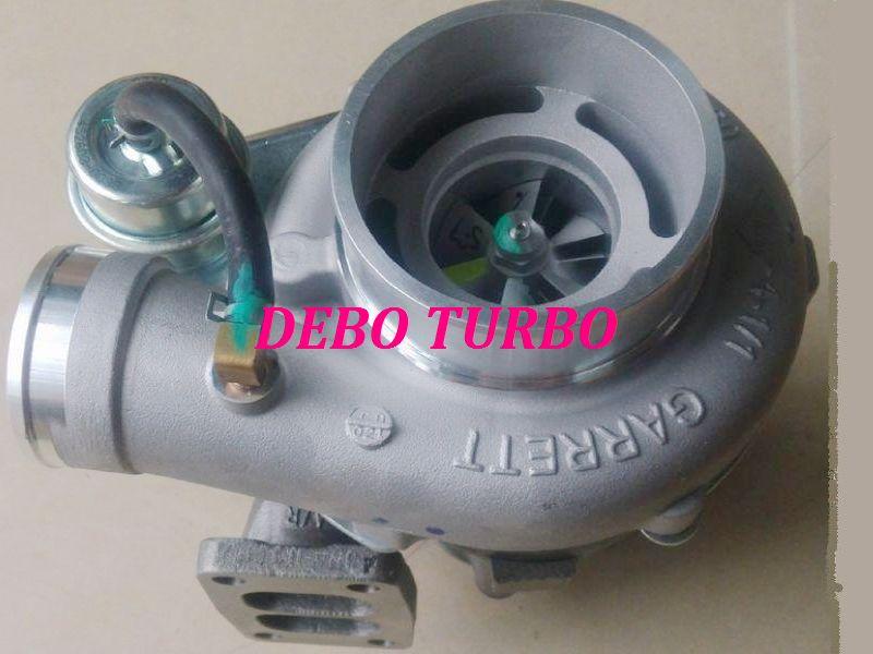 Nuevo turbocompresor genuino GT35 755057-5003S T64801014 Turbo para Tianjin LOVOL P160Ti 4L 118KW/160HP