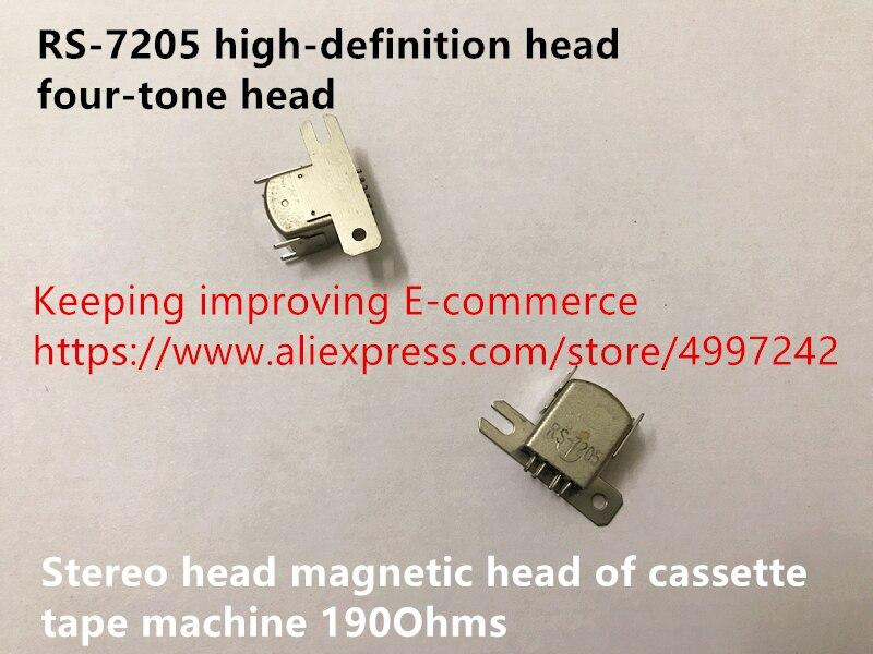RS-7205 と互換性高精細ヘッド四シルバートーンヘッドステレオヘッド磁気ヘッドのカセットテープ機 190 オームスイッチ
