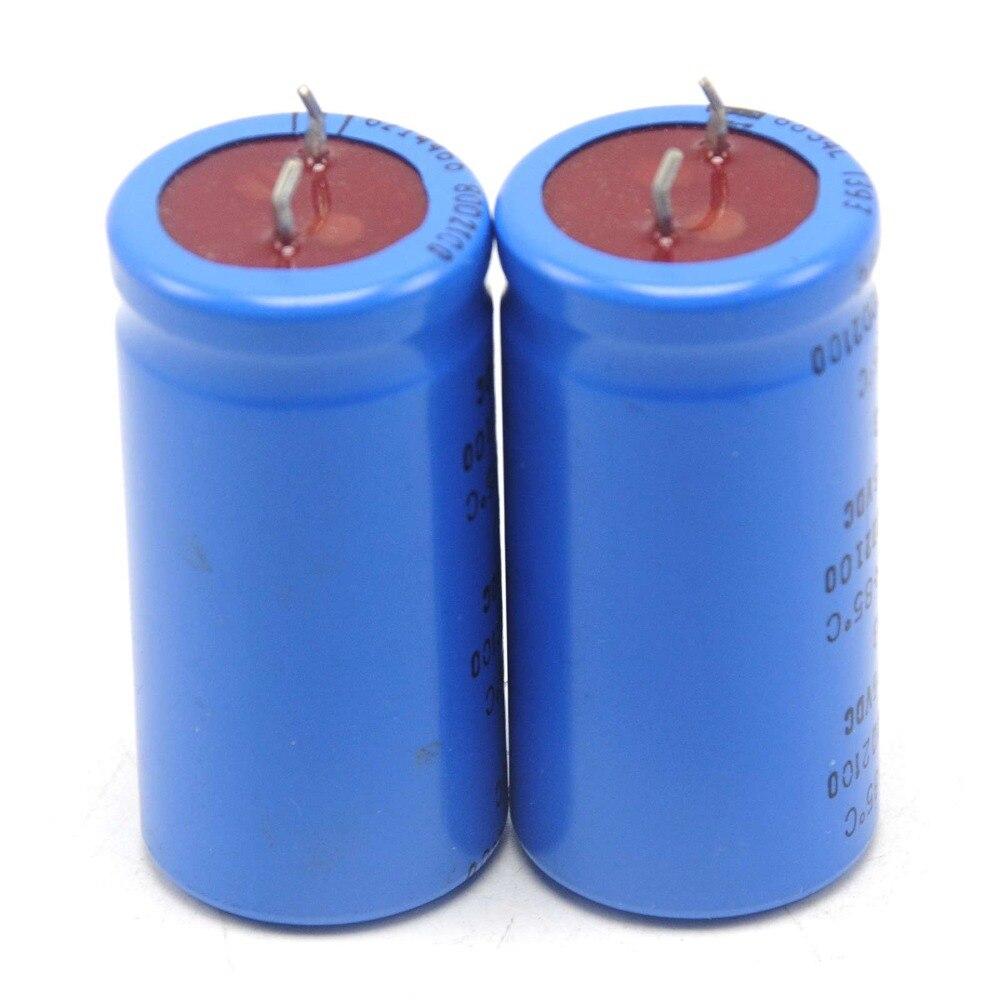 2 stücke SPRAGUE 80D 15000 uF 16 V 25x50mm Elektrolytkondensator Filter Kondensator
