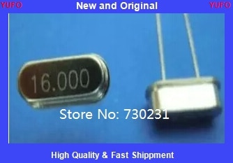 Envío GRATIS un lote 10 Uds 16.000 MHz 16 MHz cristal HC-49/S perfil bajo 16mhz