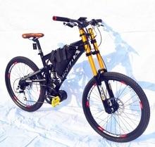 Kalosse vélo électrique M4000 9 vitesses VTT électrique vélo électrique 26 pouces Bafang mi-moteur 750W 48V