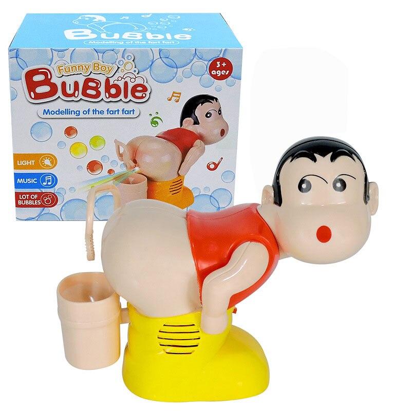 Pistola de burbujas, máquina de juguete de burbuja divertida, totalmente automática, juguetes para disparar agua, Burbuja, jabón, música, broma, soplador, niños al aire libre, juguetes para niños