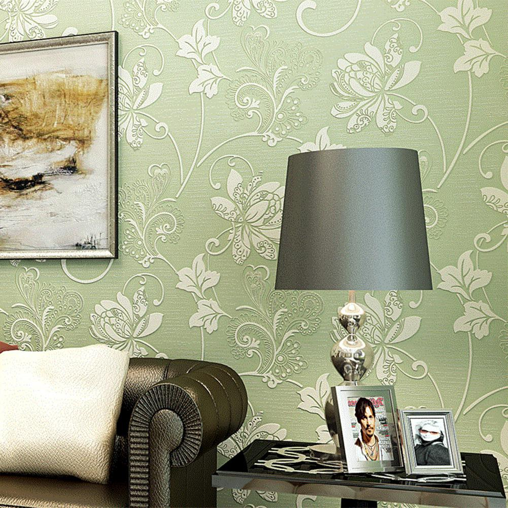 أسيابيتس 10 م ثلاثية الأبعاد نمط زهرة ورق حائط لغرف النوم ديكور غرفة المعيشة