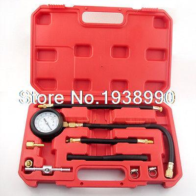 Bomba de inyección de combustible medidor de presión sintonizador de gasolina kit de herramientas de prueba nuevo