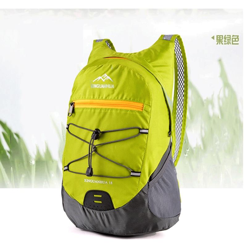 Outdoor Light Skin Bag Shoulder Waterproof Folding Backpack Men And Women Sports Mountaineering Bag Children Bag A4442