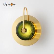 Postmodern luxury wall light living room designer creative simple bedroom aisle corridor stair wall lamp
