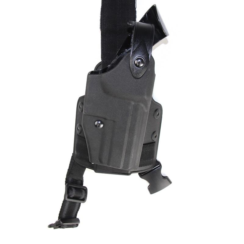 Pistolera táctica de pierna para USP Airsoft militar gota al aire libre plataforma muslo arma de combate Holsters USP accesorios de caza