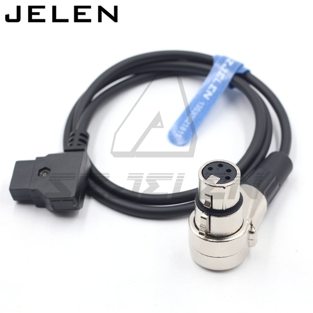 DTAP à XLR câble dalimentation femelle 4pin   Pour câble dalimentation de moniteur xlr 4pin, ROLAND EDIROL R88 power