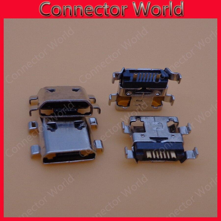 100 unids/lote común nuevo DC Power Jack Micro USB JACK Puerto enchufe puerto de carga para Samsung Galaxy S3 Mini i8190
