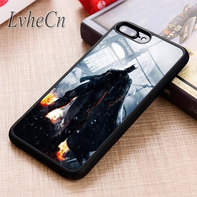 Lvhecn batman nyc capa para o iphone 5 6s 7 8 plus x xr xs max 11 pro samsung galaxy s7 edge s8 s9 s10