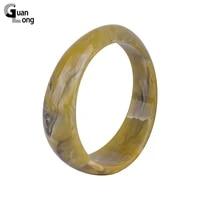 guanlong trendy fashion resin cuff bracelets bangles for women acrylic vintage simple charm geometric bracelet jewelry female