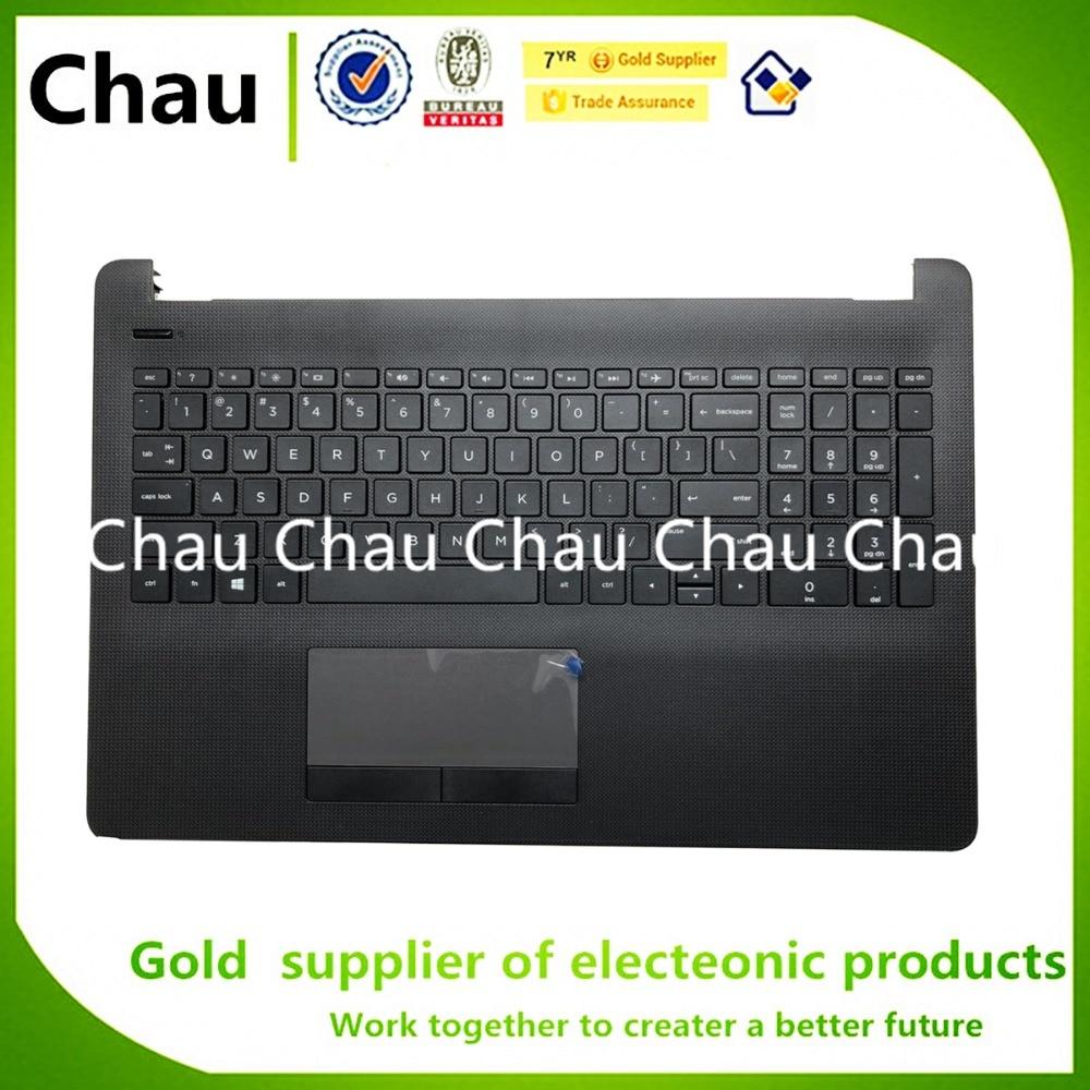 Новинка для HP 15-BS 15-CD 15-BS015DX TPN-C129 TPN-C130 250 255 256 G6 PK132043A00 US клавиатура подставка для рук верхняя крышка без тачпада