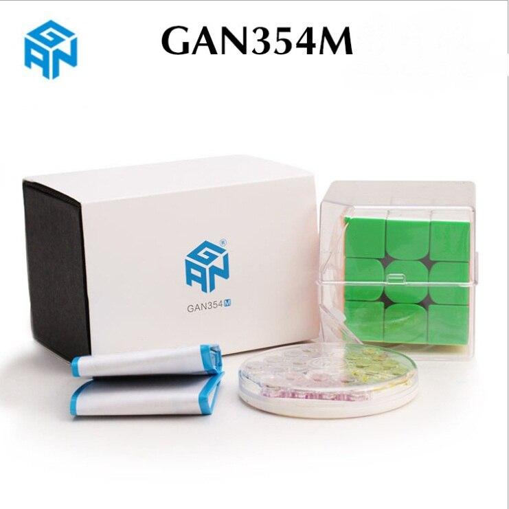 Original Gan354M V2 3x3x3 magnético cubo Gan356 aire SM X v2 R S GAN XS 356 RS 354 GAN354 M 3x3 Cubo de velocidad mágica juguetes educativos