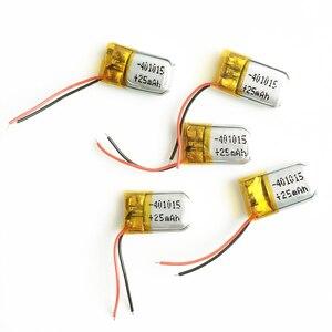 3,7 в 25 мАч 401015 литий-полимерная Липо аккумуляторная батарея для Mp3 PAD DVD электронная книга bluetooth наушники гарнитура