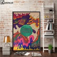Tame Impala Psychedelic Rock Band Poster Wand Kunst Leinwand Malerei Poster und Drucke Wand Bild Zimmer Dekorative Wohnkultur