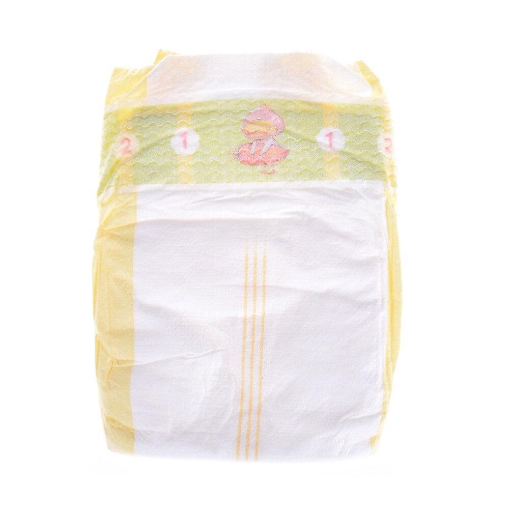 43cm descartável macio minúsculo bonito recém nascido fraldas seção fina branca vestir apto crianças boneca acessórios