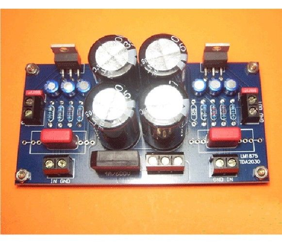 No bajo ruido OCL o BTL circuito TDA2030 placa amplificadora