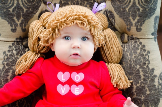 baby Photo Prop Yarn Wig Yarn Hat Crochet Funky Hat Wig Hat Headdress Cosplay Hat Chemo Hat Crochet Wig Hat Cancer Patient Hat