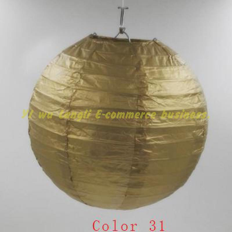 China Ronde DIY Lampion Wit Opknoping Lantaarn Bal Feestartikelen Papieren Lantaarns Tissue Bruiloft Decoratie