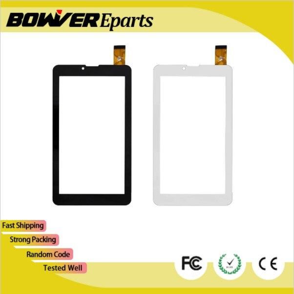 "$ A + película protectora de plástico/táctil para 7 ""4 buena T700i 3G tableta táctil Panel de cristal para pantalla Sensor digitalizador reemplazo"