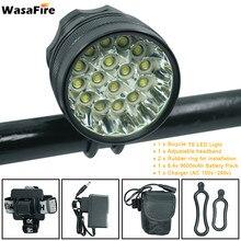 WasaFire 40000lm vélo lumière 16 * XML-T6 lampe à LED 3 Modes vélo avant lumière phare vélo accessoires pour lampe de cyclisme en plein air