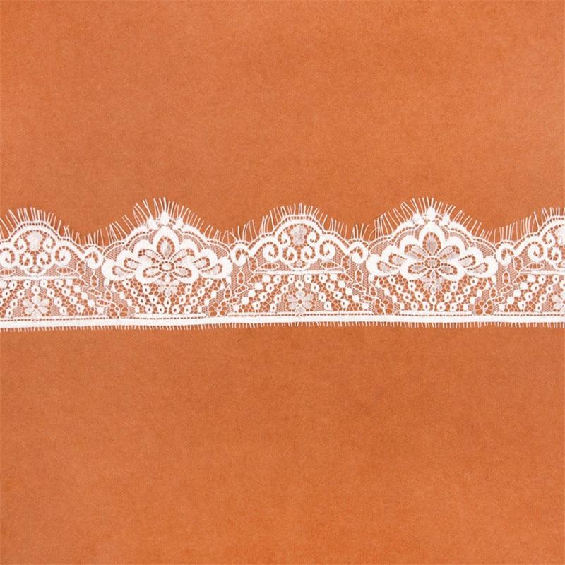 Кружевная ткань для наращивания ресниц, декоративная нейлоновая ткань для свадебного платья, высокое качество, 3 м/лот