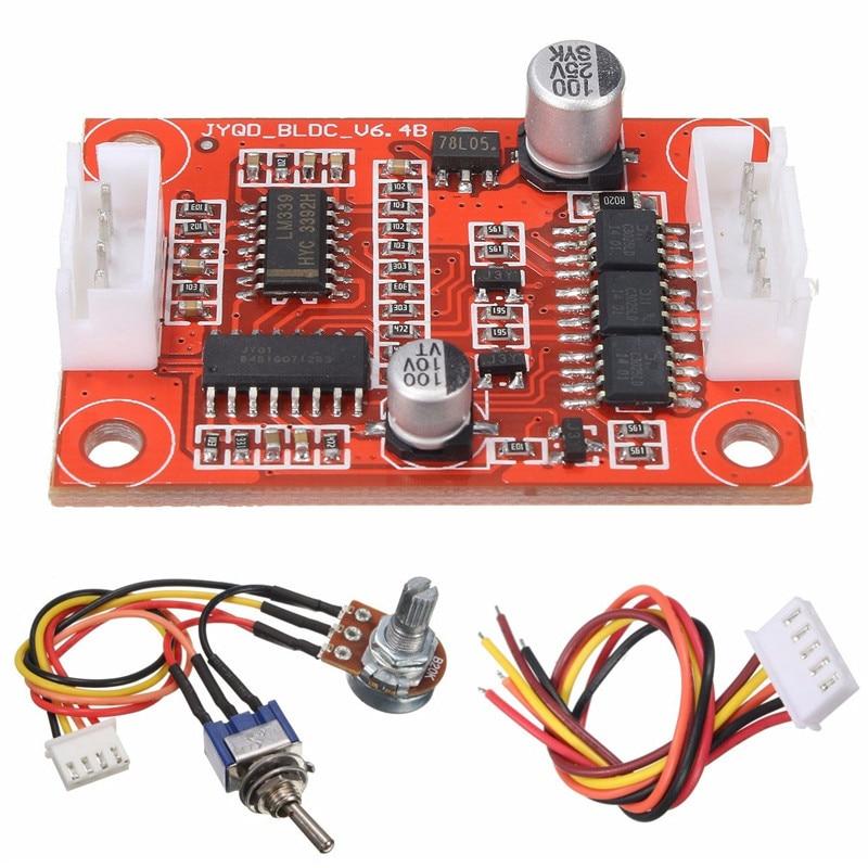 dc 75 v 18 v 30 w sem escova motor driver controlador board diy kit para motor de