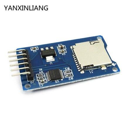 5 piezas SPI Micro SD de almacenamiento de Micro SD TF tarjeta de memoria módulo Shield para Arduino nuevo