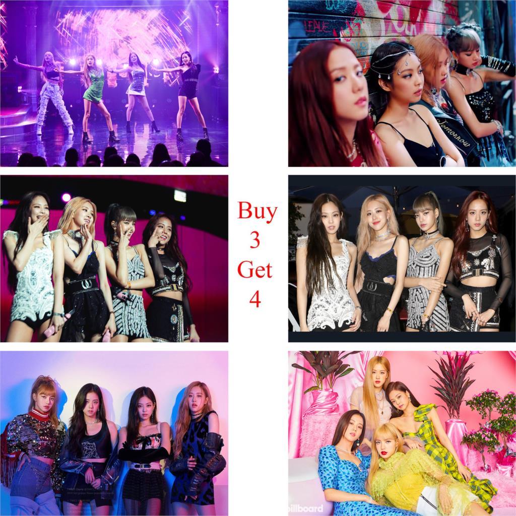 Постеры Kill this love Blackpink Kpop глянцевая бумага наклейки на стену HD украшение для дома Hometopia