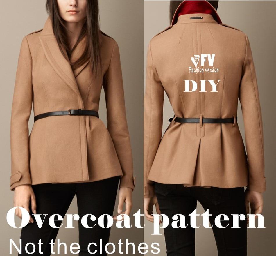 Одежда для рукоделия, Шинель для шитья, узор для шитья, шаблоны для нарезки, BFY-42 для рисования