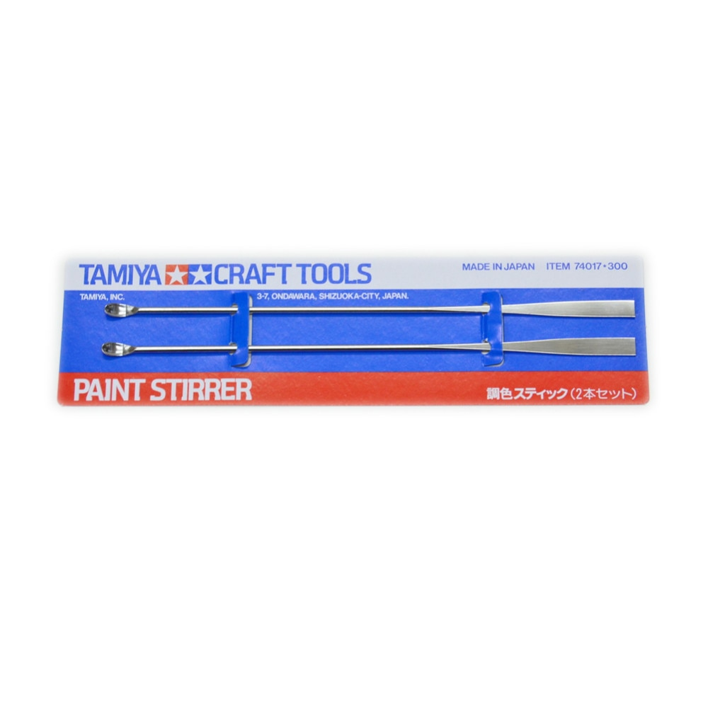 Tamiya 74017 Modelo Pintura Agitador OHS (2 pçs/set) Hobby Acessório de Ferramentas de Pintura